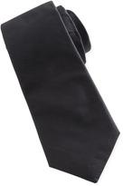 Givenchy Solid Poplin Tie, Gray