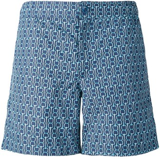 Fashion Clinic Timeless chain print swim shorts