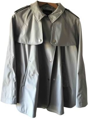 Emporio Armani Grey Trench Coat for Women