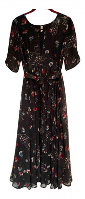 Free People Navy Polyester Dresses