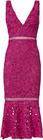 nicholas-pink-trumpet-hem-lace-dress
