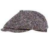 Stetson Men's Hatteras Herringbone Check Cap