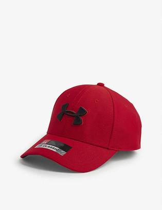 Under Armour Blitzing 3.0 logo-embroidered woven cap