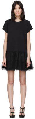 RED Valentino Black Jersey Dress