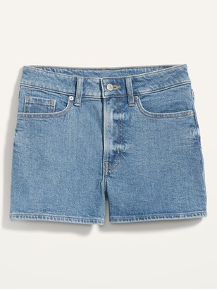 Old Navy High-Waisted O.G. Straight Jean Shorts for Women -- 3-inch inseam