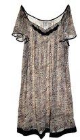 Vanity Fair 30109 Women's Short Flutter Sleeve Nylon Nightgown