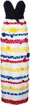 Carolina Herrera floral skirt embroidered gown - women - Silk - 8