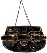 Fendi Patent leather clutch bag