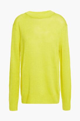 Theory Linen-blend Sweater