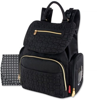 Fisher-Price Signature Quilted Avery Backpack Diaper Bag