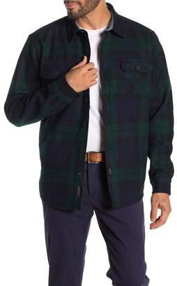 Weatherproof Plaid Heavy Twill Shirt Jacket