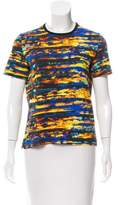 Cédric Charlier Printed Short Sleeve Top