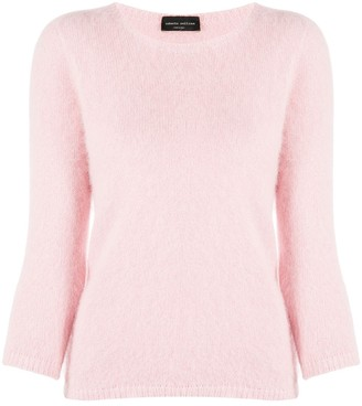 Roberto Collina Long-Sleeved Fine Knit Sweater