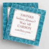 Downton Abbey Carson Beverage Napkins 20 Count