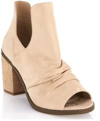 Gc Shoes Peep Toe Bootie