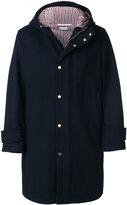 Thom Browne hooded parka coat
