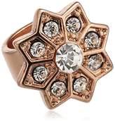 Pilgrim Charming 42122-4010 Crystal Brass Charm