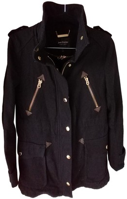 Juicy Couture Black Cotton Coats