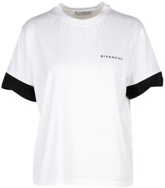 Givenchy White And Black T-shirt
