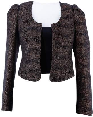 Maison Scotch Black Polyester Jackets