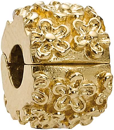 Pandora Golden Flower 14K Clip Charm