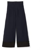 3.1 Phillip Lim Military Wide-Leg Pant in Phantom Blue, Size 2