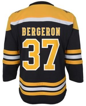 Authentic Nhl Apparel Patrice Bergeron Boston Bruins Player Replica Jersey, Toddler Boys