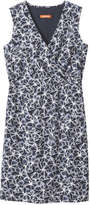 Joe Fresh Women's Sleeveless Wrap Dress, Dark Blue (Size XS)