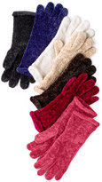 Charter Club Chenille Roll Top Gloves