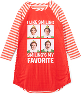 Intimo Elf Red 'I Like Smiling' Nightgown - Girls