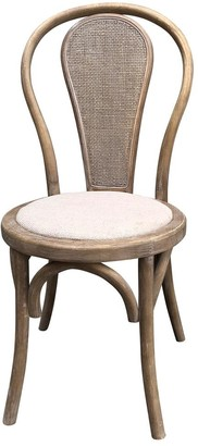 One World Round Rattan Back Dining Chair