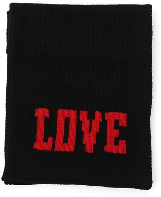 Dolce & Gabbana Love Knit Scarf