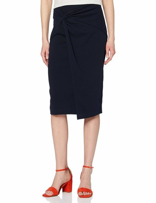 Dorothy Perkins Women's Twist Front Jersey Pull On Pencil Skirt