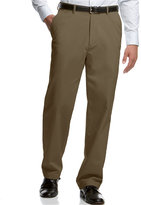 Haggar Microfiber Performance Classic-Fit Dress Pants, Only at Macy's