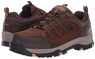 Skechers Relaxed Fit Relment - Semego (Dark Brown) Men's Shoes