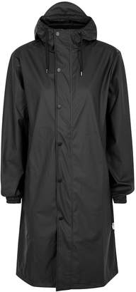 Rains Fishtail Black Rubberised Raincoat