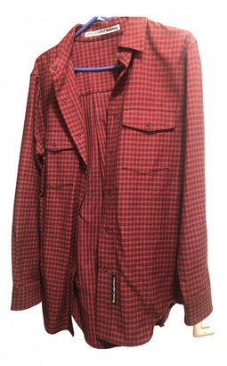 Alexander Wang Red Cotton Tops