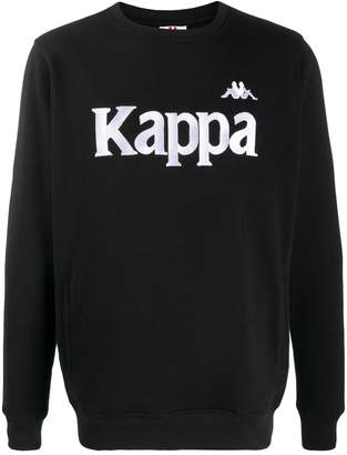 Kappa embroidered logo sweatshirt
