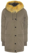 Kenzo Parka Coat With Fur-trimmed Hood