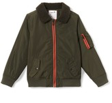 La Redoute Collections Bomber Jacket with Stand-Up Collar