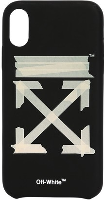 Off-White Off White TAPE ARROWS PRINT IPHONE X/XS COVER