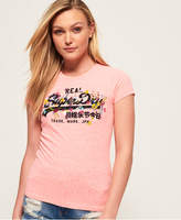 Superdry Vintage Logo Puff Embroidered T-Shirt