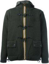 Bark reversible toggle fastening jacket