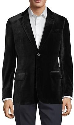 Armani Collezioni Textured Velvet Jacket
