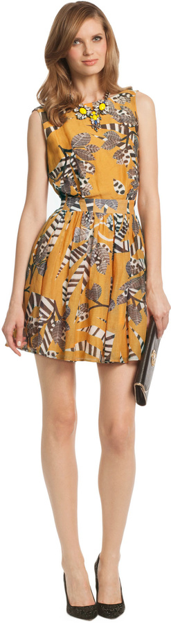 Thakoon Jungle Cat Dress