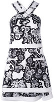 Carven halter dress - women - Silk/Polyester/Acetate - 36