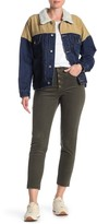 UNIONBAY Zadie Button Fly Frayed Corduroy Pants