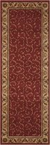 """Nourison Somerset (ST02) Red Runner Area Rug, 2-Feet by 5-Feet 9-Inches (2' x 5'9"""")"""
