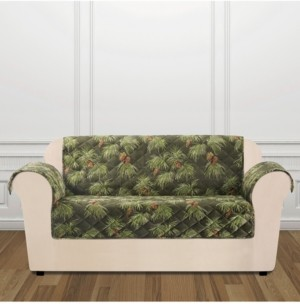 Sure Fit Closeout! Holiday Motifs Quilted Loveseat Slipcover