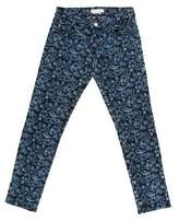 Etoile Isabel Marant Maddy Floral Embroidered Jeans